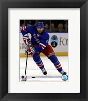 Framed Rick Nash 2012-13 Action