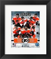 Framed Philadelphia Flyers 2012-13 Team Composite