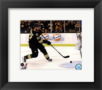 Framed Patrice Bergeron 2012-13 on the ice