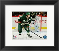 Framed Ryan Suter On The Hockey Field