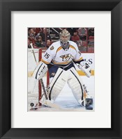 Framed Pekka Rinne 2012-13 Action