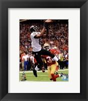 Framed Anquan Boldin Touchdown Super Bowl XLVII