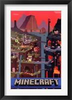 Framed Minecraft - Cube
