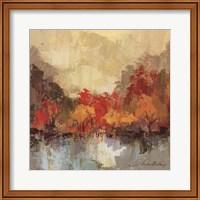 Framed Fall Riverside II