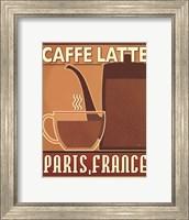 Framed Deco Coffee III