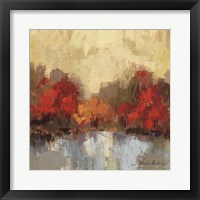 Fall Riverside I Framed Print