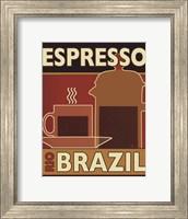 Framed Deco Coffee I