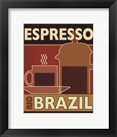 Framed Deco Coffee I