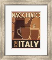 Framed Deco Coffee II