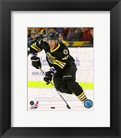 Framed Brad Marchand 2012-13 Action