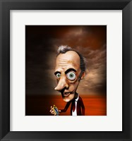 Framed Salvador Dali
