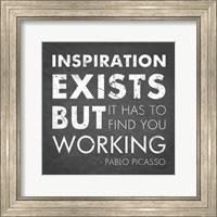 Framed Inspiration Quote