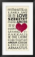 Framed Love Around the World
