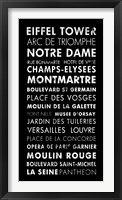 Paris IV Framed Print