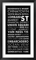 Framed San Francisco II