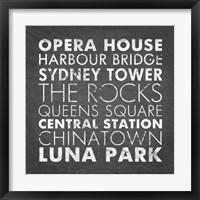 Framed Sydney