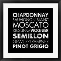 White Wine II Framed Print