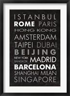 Framed World Cities II