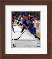 Framed Jordan Eberle 2012-13 Action