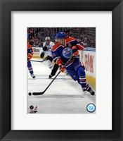 Framed Jordan Eberle 2012-13 Action