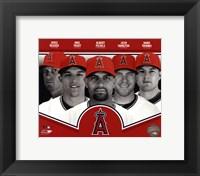Framed Los Angeles Angels 2013 Team Composite