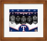 Framed Texas Rangers 2013 Team Composite
