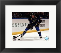 Framed T.J. Oshie 2012-13