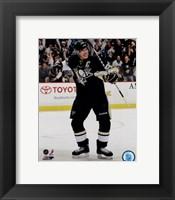 Framed Sidney Crosby Rejoicing 2012-13