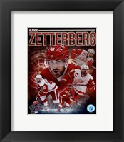 Framed Henrik Zetterberg 2013 Portrait Plus
