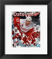 Framed Pavel Datsyuk 2013 Portrait Plus