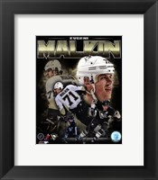 Framed Evgeni Malkin 2013 Portrait Plus