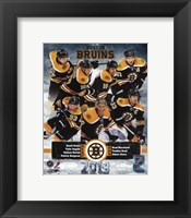 Framed Boston Bruins 2012-13 Team Composite