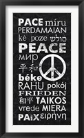 Framed Peace Languages