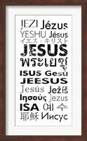 Framed Jesus Languages