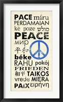 Framed Peace Around the World