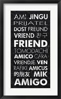 Framed Friend in Different Languages