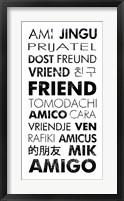 Framed Friend Languages