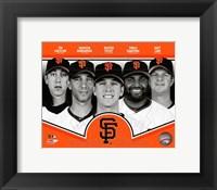 Framed San Francisco Giants 2013 Team Composite
