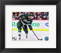 Framed Dany Heatley 2012-13 Action