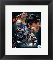 Framed Patrick Marleau 2013 Portrait Plus