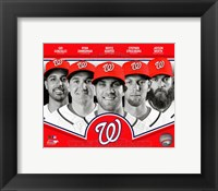 Framed Washington Nationals 2013 Team Composite