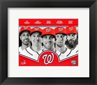 Framed Washington Nationals 2013 Team Composite