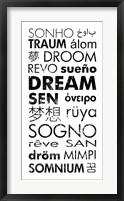 Framed Dream Languages