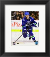 Framed Kevin Bieksa on ice 2012-13