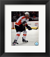 Framed Sean Couturier 2012-13 Action
