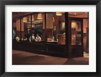 Framed Cafe Europa