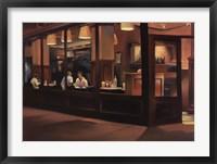 Cafe Europa Framed Print