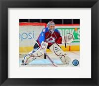 Framed Semyon Varlamov 2012-13 Goalie