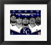 Framed Kansas City Royals 2013 Team Composite