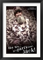 Framed Duck Dynasty - Si